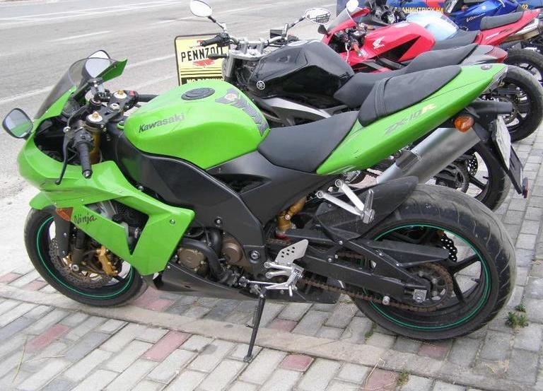 Kawasaki ZX 10 …