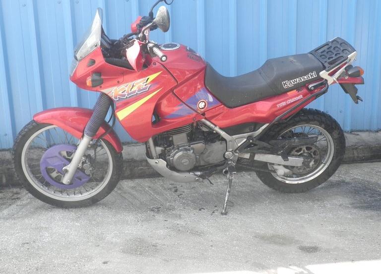 Kawasaki KLE 500 …