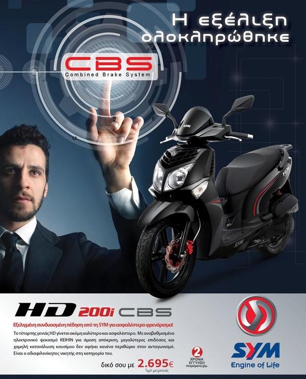 Sym HD2 200 …