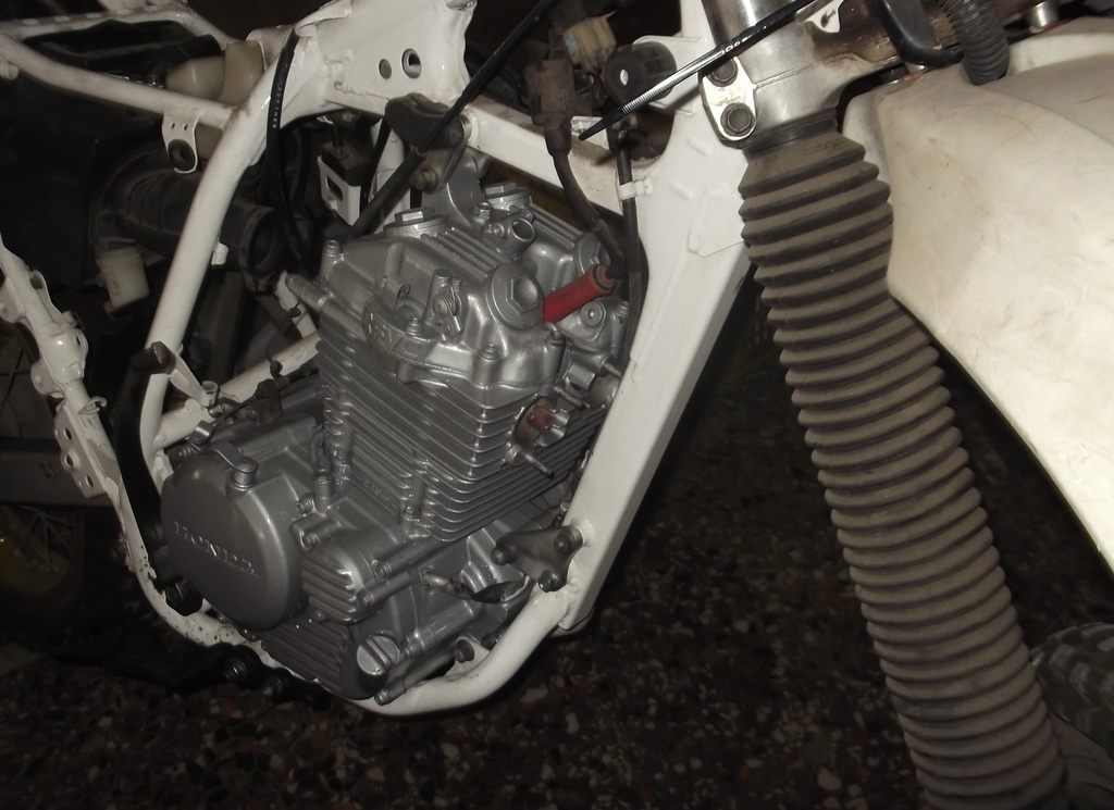 Honda XLR250 MD22-MD17E