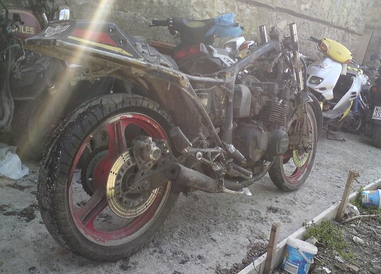 Kawasaki GPZ 550 …