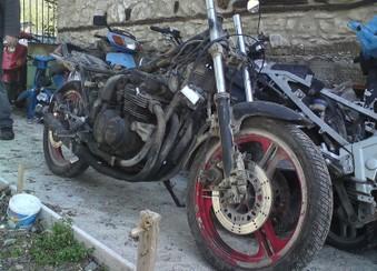 Kawasaki GPZ 550 ...