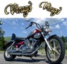 Yamaha VIRAGO XV125 ...