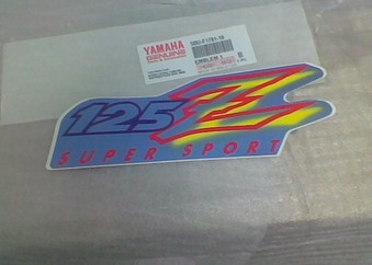 YAMAHA Z 125 ...